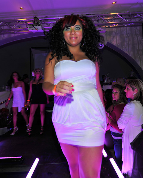 Melville, New York - June : Estilo Preforms the 30 at Four Hair Salon Competition Hosted By Richard Jay on June 13, 2011 in Melville, New york. (Photo by Joseph Bellantoni/In House Image)