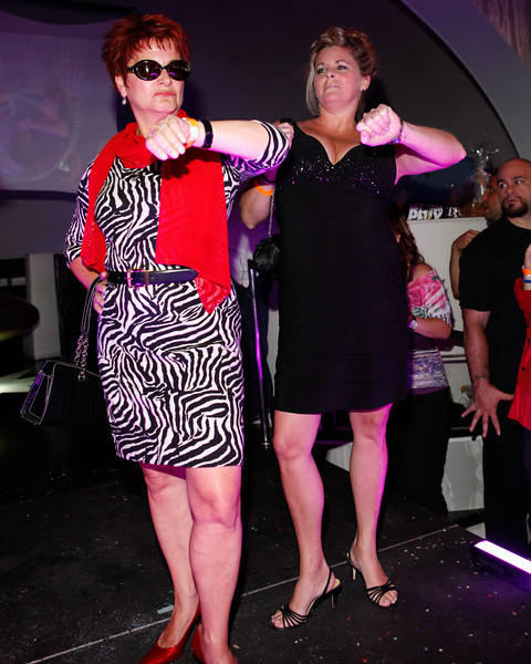 Melville, New York - June : Excellence Preforms the 30 at Four Hair Salon Competition Hosted By Richard Jay on June 13, 2011 in Melville, New york. (Photo by Nicolai Patrick/In House Image)