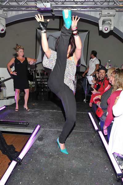 Melville, New York - June : Excellence Preforms the 30 at Four Hair Salon Competition Hosted By Richard Jay on June 13, 2011 in Melville, New york. (Photo by Joseph Bellantoni/In House Image)