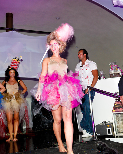 Melville, New York - June : HeadRush Preforms the 30 at Four Hair Salon Competition Hosted By Richard Jay on June 13, 2011 in Melville, New york. (Photo by Nicolai Patrick/In House Image)