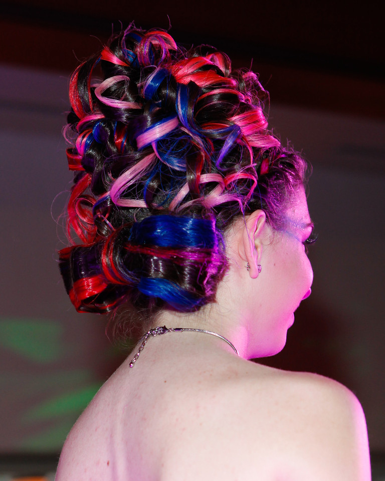 Melville, New York - June : Heads Up Preforms the 30 at Four Hair Salon Competition Hosted By Richard Jay on June 13, 2011 in Melville, New york. (Photo by Nicolai Patrick/In House Image)