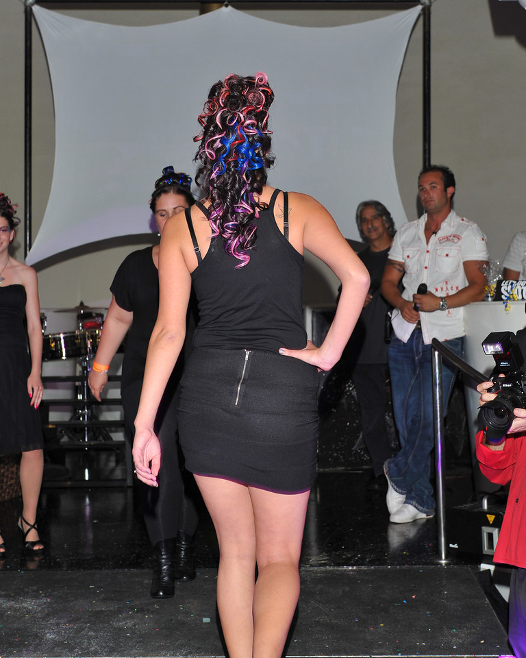 Melville, New York - June : Heads Up Preforms the 30 at Four Hair Salon Competition Hosted By Richard Jay on June 13, 2011 in Melville, New york. (Photo by Joseph Bellantoni/In House Image)