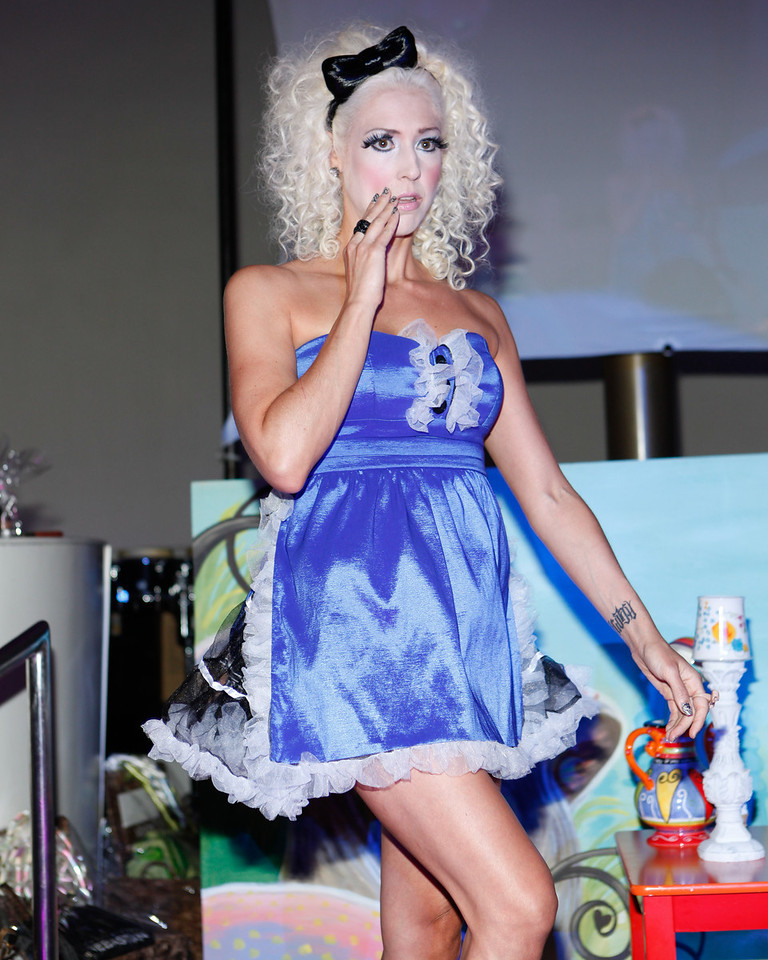 Melville, New York - June : House Of Style Preforms the 30 at Four Hair Salon Competition Hosted By Richard Jay on June 13, 2011 in Melville, New york. (Photo by Nicolai Patrick/In House Image)