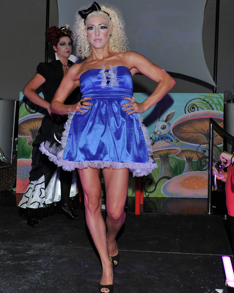 Melville, New York - June : House Of Style Preforms the 30 at Four Hair Salon Competition Hosted By Richard Jay on June 13, 2011 in Melville, New york. (Photo by Joseph Bellantoni/In House Image)