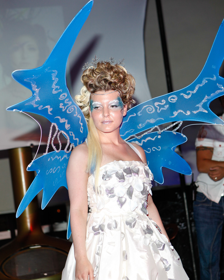 Melville, New York - June : JD Thomas Preforms the 30 at Four Hair Salon Competition Hosted By Richard Jay on June 13, 2011 in Melville, New york. (Photo by Nicolai Patricki/In House Image)