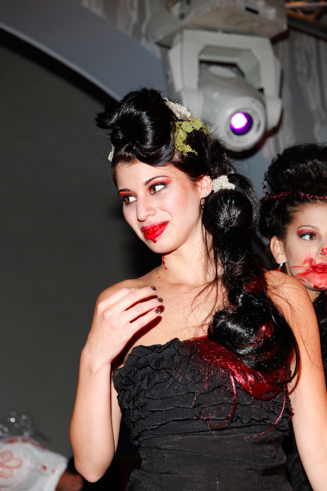 Melville, New York - June : La Cole Salon Preforms the 30 at Four Hair Salon Competition Hosted By Richard Jay on June 13, 2011 in Melville, New york. (Photo by Nicolai PatrickIn House Image)