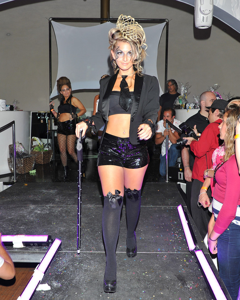 Melville, New York - June : Lumara Preforms the 30 at Four Hair Salon Competition Hosted By Richard Jay on June 13, 2011 in Melville, New york. (Photo by Joseph Bellantoni/In House Image)