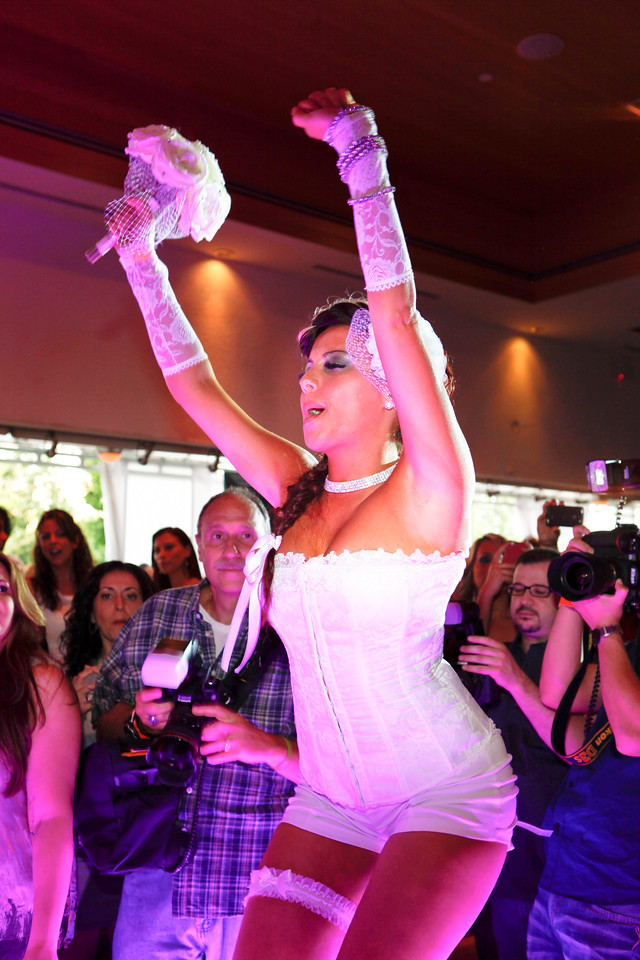 Melville, New York - June : Lumara Preforms the 30 at Four Hair Salon Competition Hosted By Richard Jay on June 13, 2011 in Melville, New york. (Photo by Nicolai Patrick/In House Image)