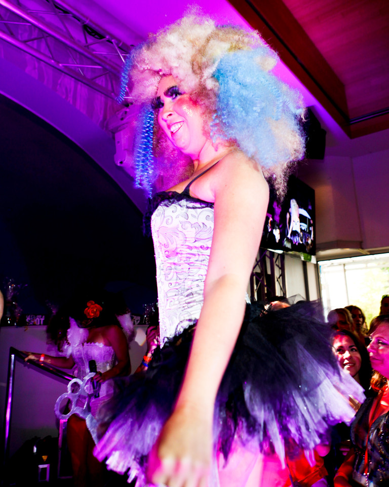 Melville, New York - June : Opus Salon Preforms the 30 at Four Hair Salon Competition Hosted By Richard Jay on June 13, 2011 in Melville, New york. (Photo by Nicolai Patrick/In House Image)