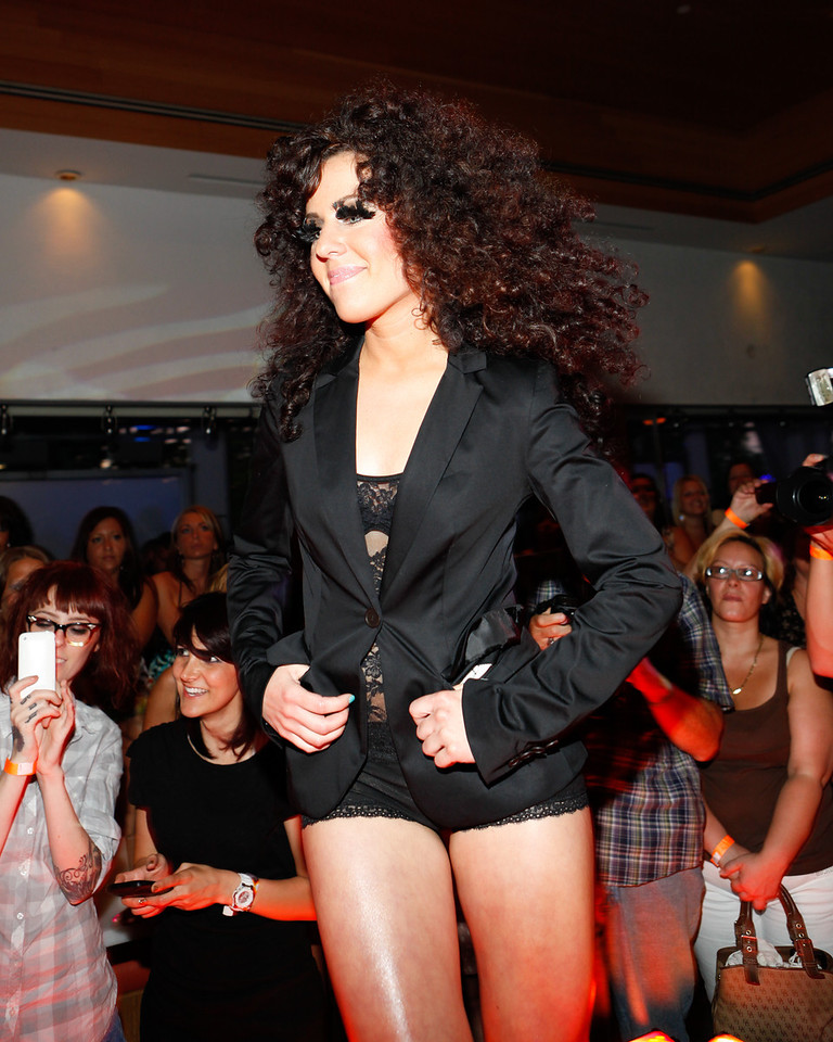 Melville, New York - June : Privee Preforms the 30 at Four Hair Salon Competition Hosted By Richard Jay on June 13, 2011 in Melville, New york. (Photo by Nicolai Patrick/In House Image)