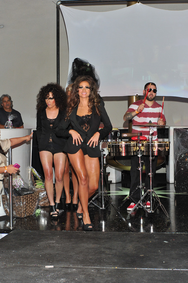Melville, New York - June : Privee Preforms the 30 at Four Hair Salon Competition Hosted By Richard Jay on June 13, 2011 in Melville, New york. (Photo by Joseph Bellantoni/In House Image)