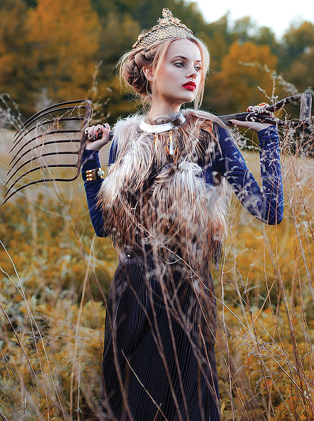 """Into the Wilderness"" fashion editorial for Kurv magazine by ny paris fashion photographer jodi jones"