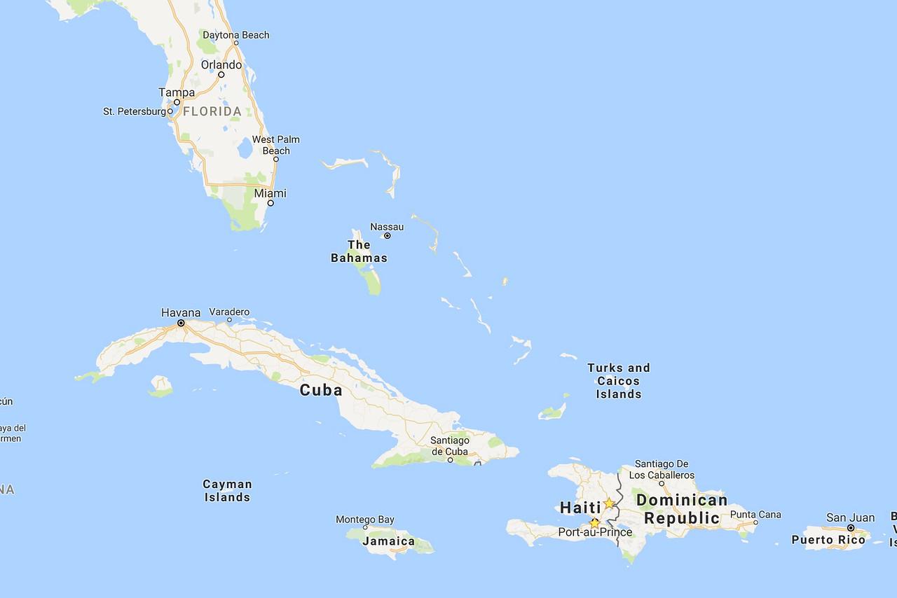 Where's Haiti?