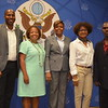 Press conference at the U.S. Embassy in Haiti to honor LEAD entrepreneurs who attended the Global Entrepreneurship Summit (GES) in June 2016 in Silicon Valley USA. LEAD entrepreneurs attending the Summit:<br /> <br /> Myrtha Vilbon, Glory Industries<br /> Kalinda Magloire, Switch S.A.<br /> Elan Moncher, (ACOD)<br /> Diderot Musset, Surtab S.A.
