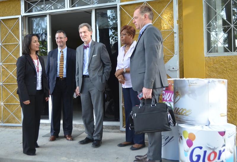 Delegation Visits Glory Industries