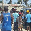 Emergency relief/water distribution by PADF in St Jean de Sud, Haiti after Hurricane Matthew. Photos by PADF staff.