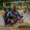 The first days after hurricane matthew, LaSaline, Cite Soleil, La Digue Bridge. <br /> Photos: Jean Marc Hervé Abellard