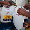 Haiti water bucket