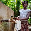Haiti water girl