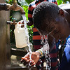 Haiti water boy