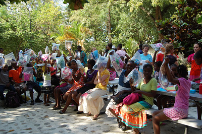 AN16 Children's Home Haiti Kiddies with Emmanuel Christian Church Christmas gifts