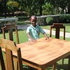 AN17107 Joseph Jean Samyonnel Fils Estilus GGINP1070 table and chairs