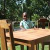AN17107 Joseph Jean Samyonnel Fils Estilus GGINP1070 table and chairs two
