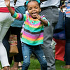 Leominster held it's first Haitian Festival on the common Sunday, September 8, 2019. Having way to much fun at the festival is Kisha Moise, 4, from Worcester. SENTINEL & ENTERPRISE/JOHN LOVE