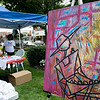 Leominster held it's first Haitian Festival on the common Sunday, September 8, 2019. One of pieces of art at the festival. SENTINEL & ENTERPRISE/JOHN LOVE
