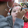Leominster held it's first Haitian Festival on the common Sunday, September 8, 2019. One of pieces of art at the festival. Lilly Tiudel, 11, of Lunenburg gets her face painted at the festival. SENTINEL & ENTERPRISE/JOHN LOVE