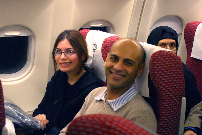 Nadeem and his wife Nadia, both wonderful people that we got to know so well during Haj.