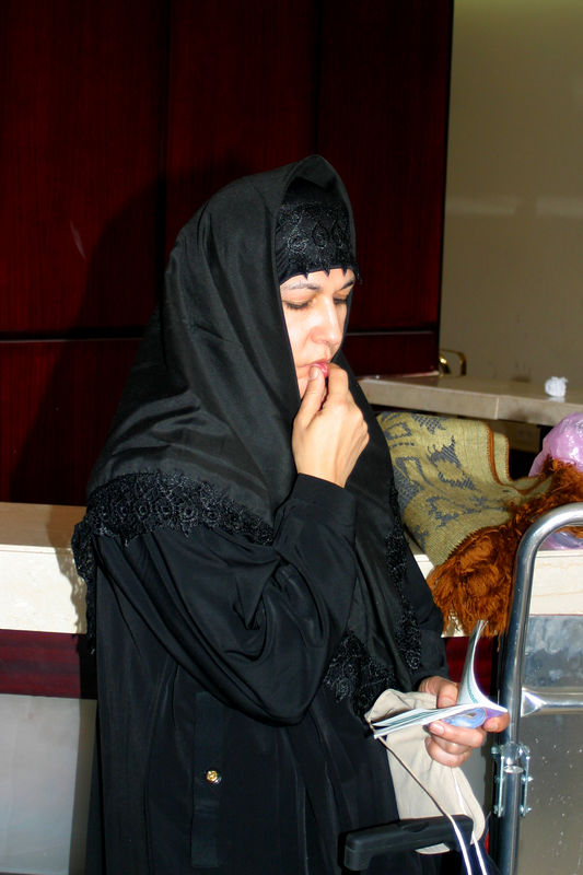 Ambreen catching up on her prayers.  She was really good at simplifying things for someone like me.