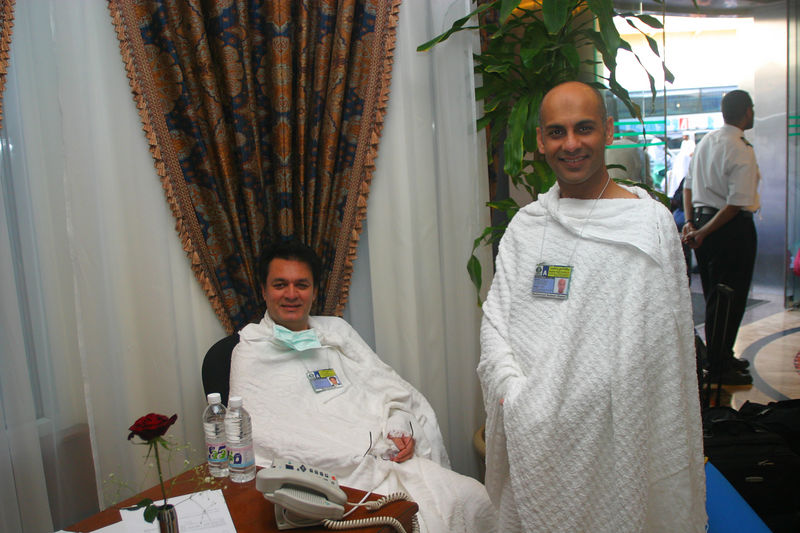 Arshad Jan and Nadeem posing for me.