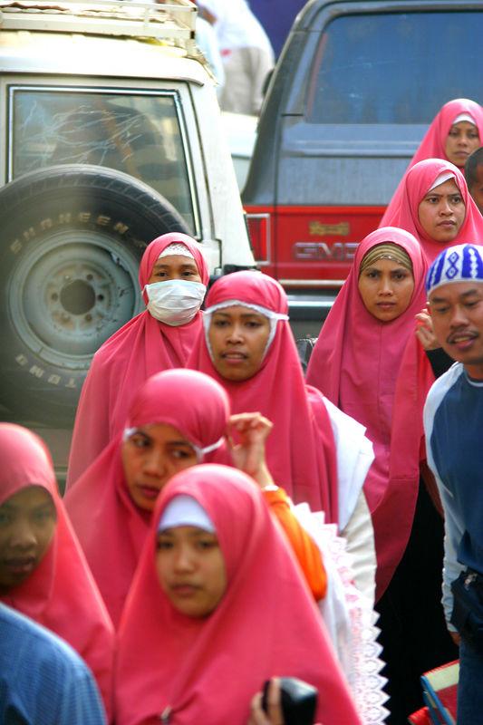 Indonesian women.