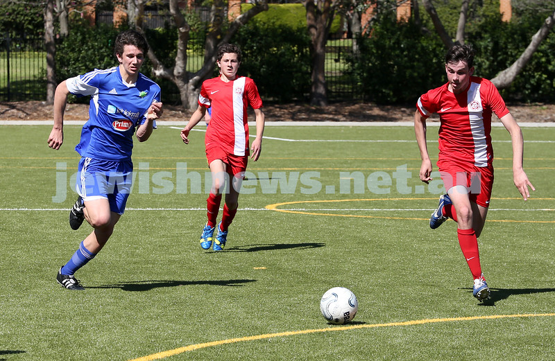 Under 16 Soccer Hakoah Sydney City East FC vs Nepean FC. Hakoah won 3-2.