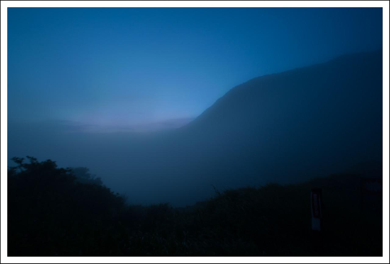 Sunrise at Owakudani