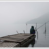 At the dock at the Hakone campgrounds.
