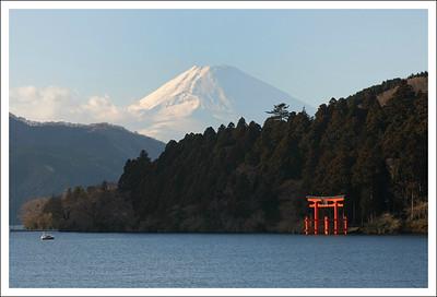 Motohakone and Hakone shrine