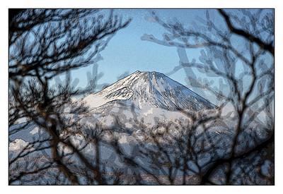 Taken from Kamiyama  hiking trail.