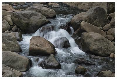 The hayakawa river.