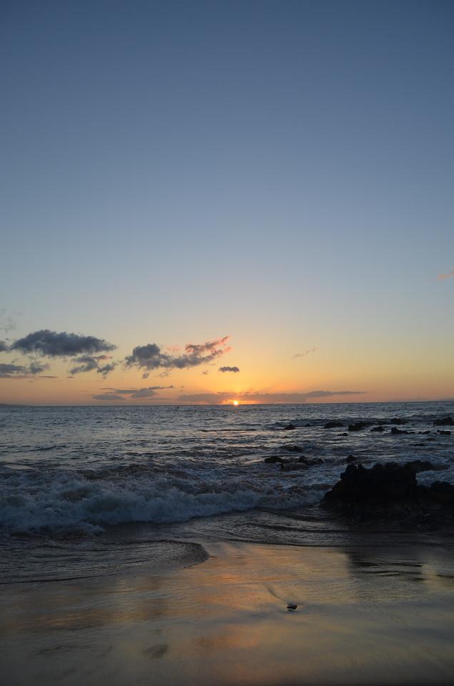 junko 2/10/13 Sunset Kihei