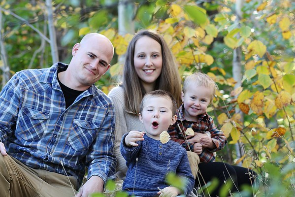 Haldorsons family fall portraits
