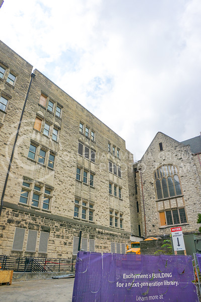 Back exterior of Hale Library. 15 September 2020. Haley Jacques || Collegian Media Group