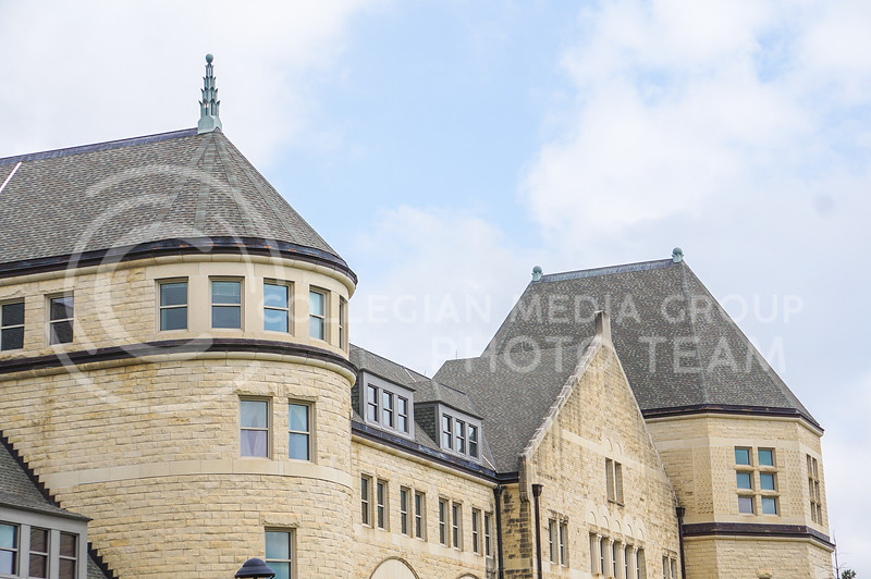 Upper level exterior of Hale Library. 15 September 2020. Haley Jacques || Collegian Media Group