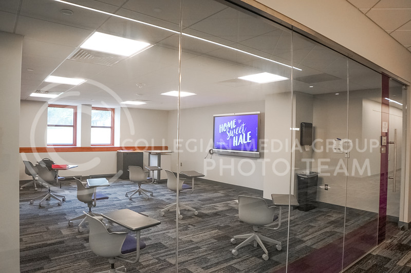 Now is the best time to come into Hale Library. Most days will be quite empty and quiet as well. 15 September 2020. Haley Jacques || Collegian Media Group