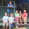Rose, Lee, Joyce, Suzi, Jeanne, Nancy: project completed, time to head out