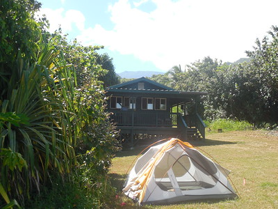 our cabin at Kipahulu