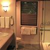 Stamdard bathroom with separate shower