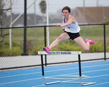 June Murray Varsity Girls 300 hurdles
