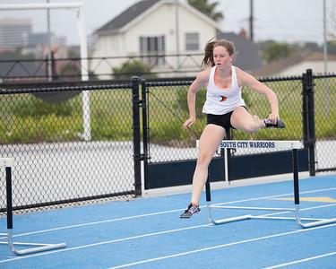 Shannon Harger Varsity Girls 300 Hurdle
